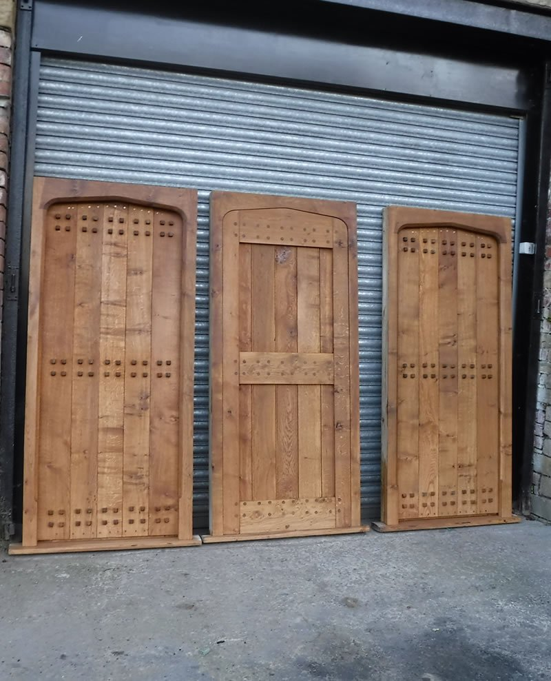 3 doors ready to replace at a hilltop farm in halifax