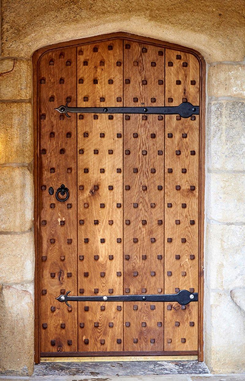completed period door in situ