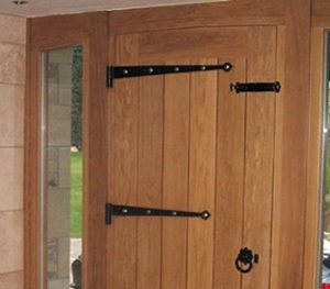 contemporary doors made by hand