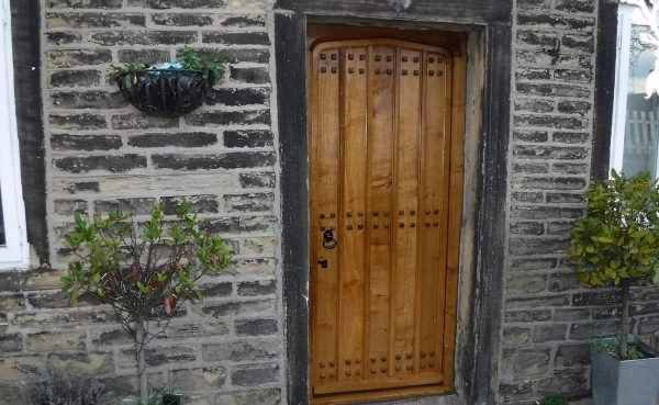 door replaced at a farm in halifax