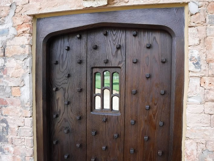 hand made period doors