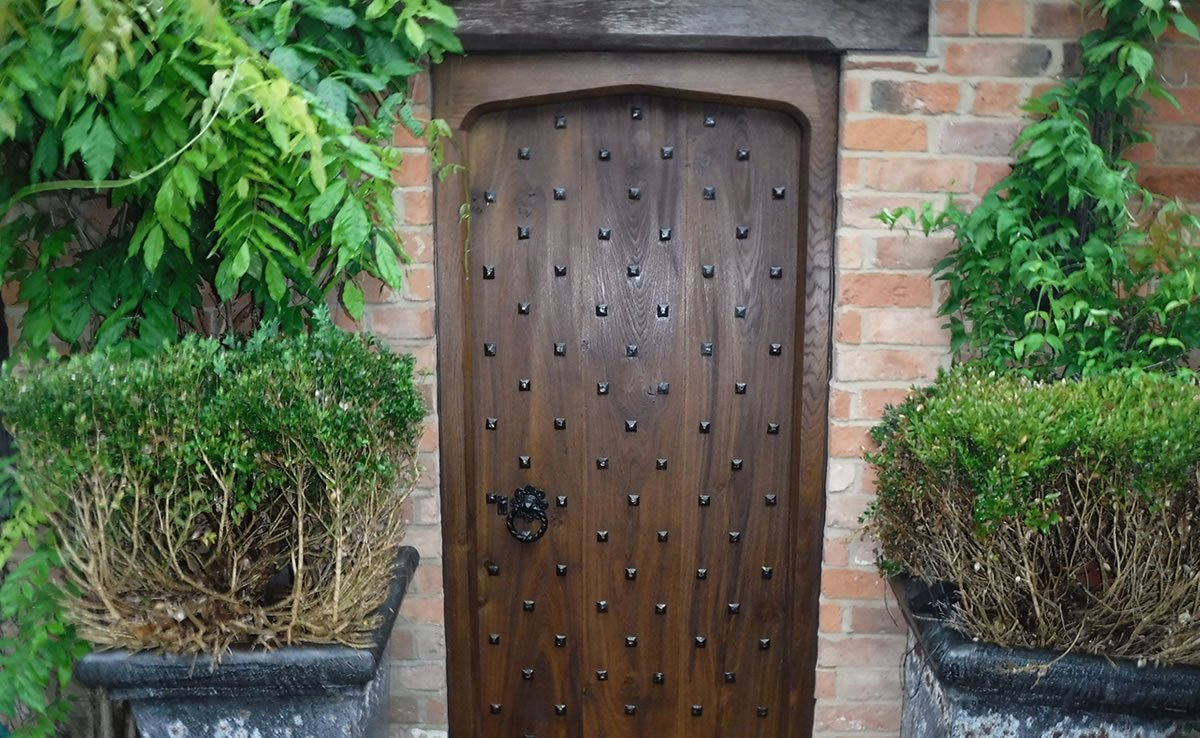new doors on a converted stable in coventry
