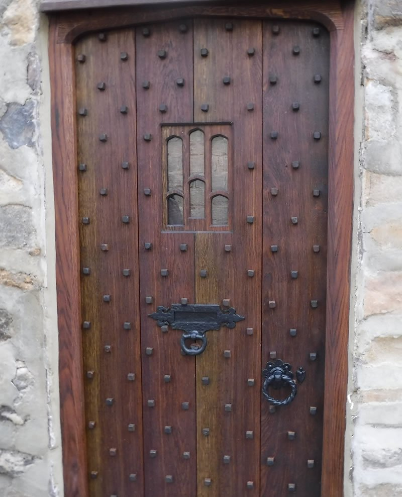 hand made period door