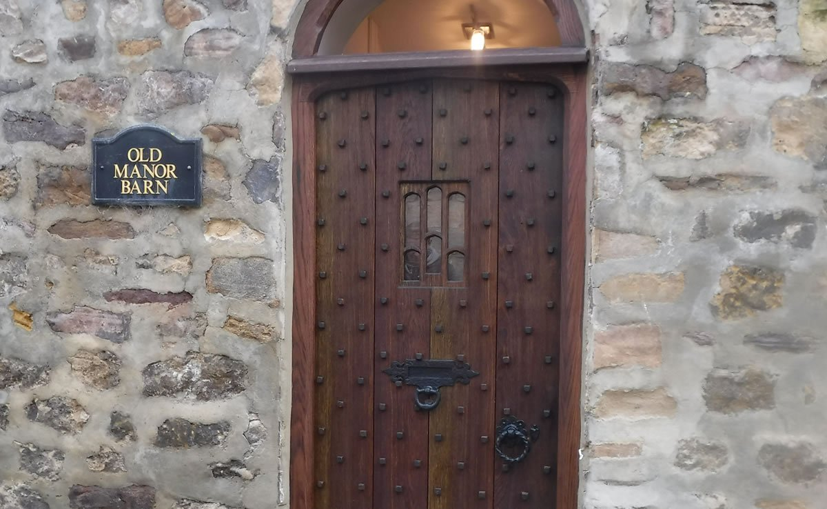 traditional hand made period door in harrogate