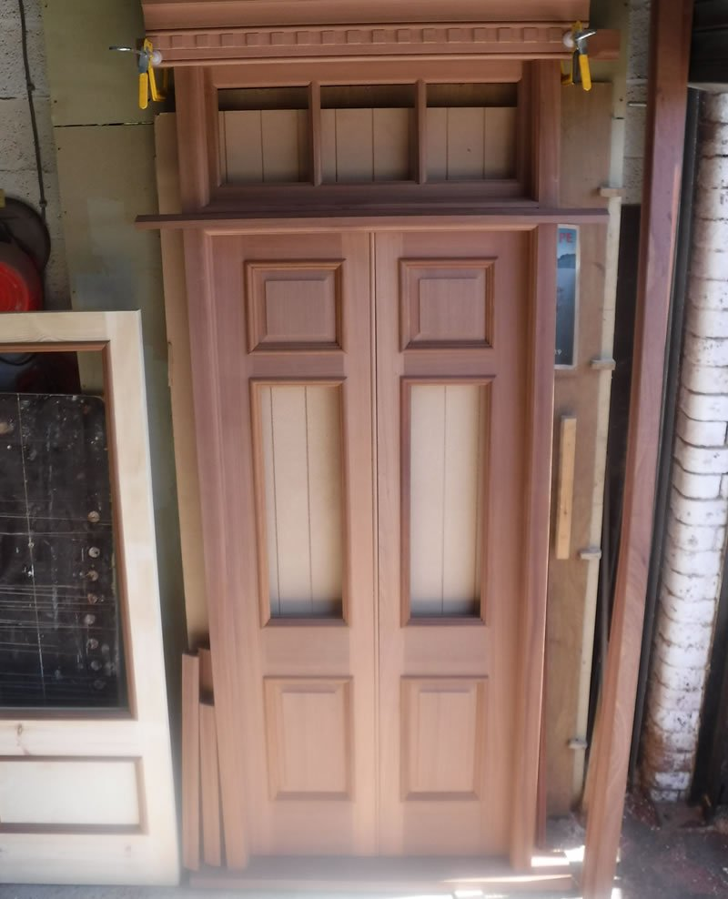 hand crafted door for 16th century house