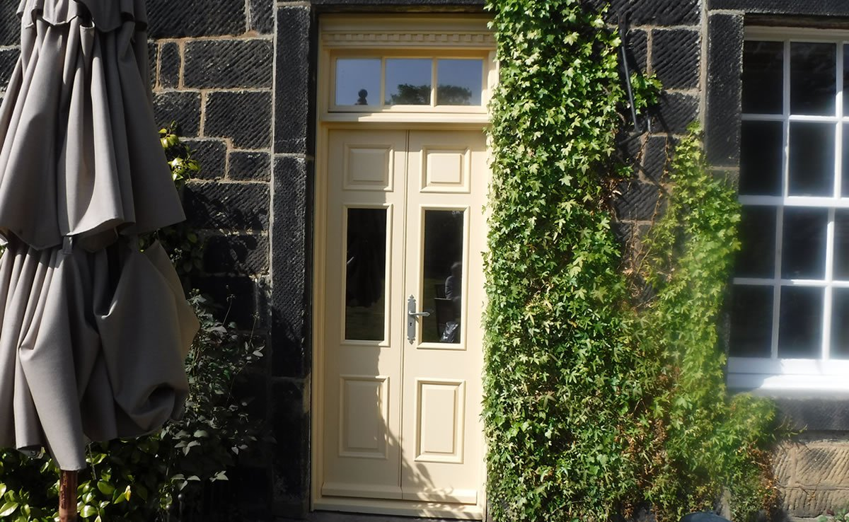 new door for 16th century listed building